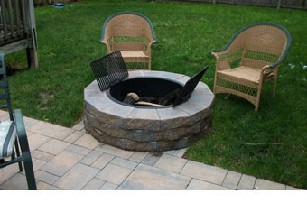 Stone Firepits And Outdoor Bbq Grilling Assembly Servicing