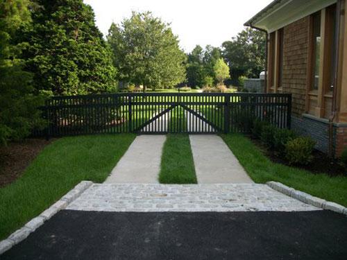 Paving Stone Walkway Design