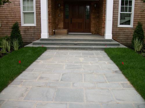 Blue Stone Stone Walkways Walkway Design Contractors Of